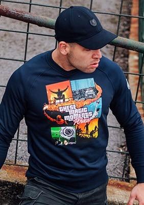 Sweatshirt These Magic Moments Navy