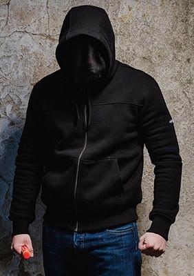 SS17 Bluza Fanatic Czarna S