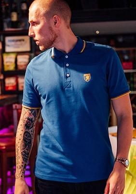 Poloshirt Classic Logo Blue