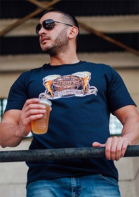 T-shirt Football&Beer