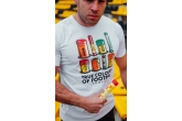 T-shirt Colours of Football White