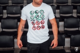 T-shirt Our Rules White
