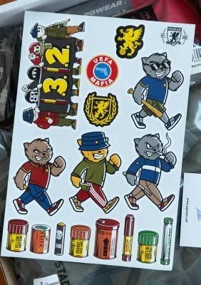 PGwear Stickers